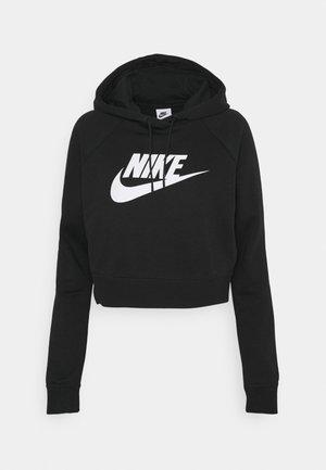 CROP - Sweatshirt - black/white