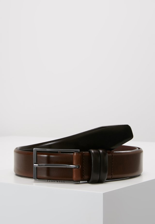 CARMELLO - Gürtel business - dark brown