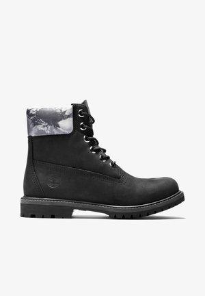 6IN PREMIUM BOOT L/F- W - Lace-up boots - black nubuck