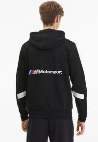 Puma - PUMA BMW M MOTORSPORT HOODED MEN'S SWEAT JACKET MALE - Sweatjacke - puma black - 2