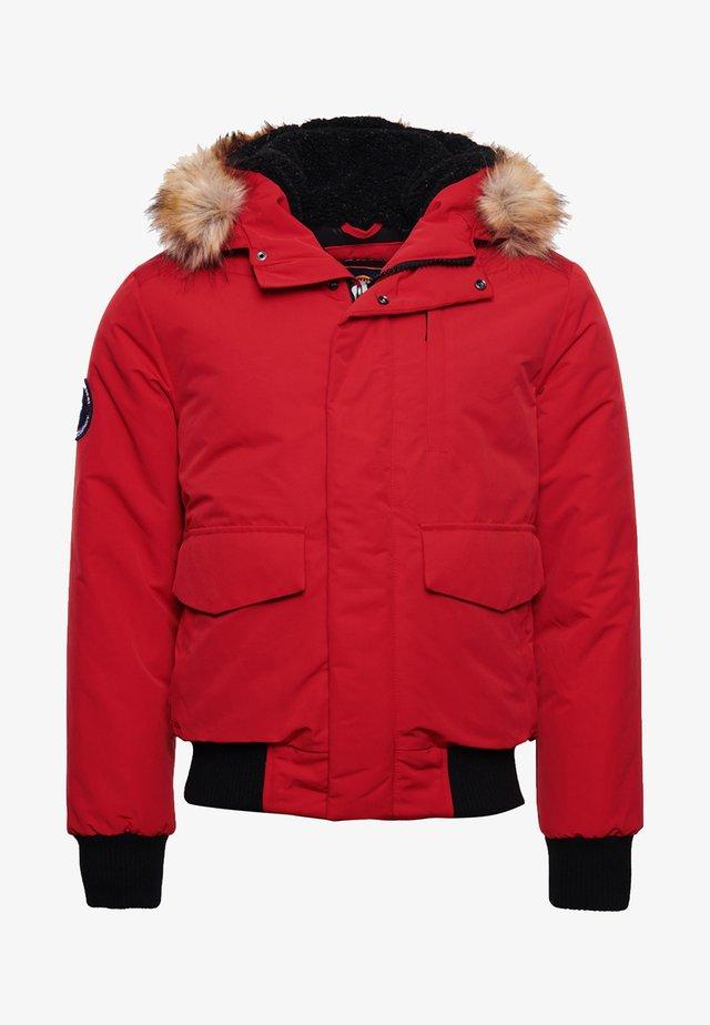 EVEREST - Winter jacket - high risk red