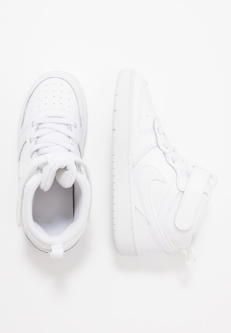 Nike Sportswear - COURT BOROUGH MID UNISEX - High-top trainers - white