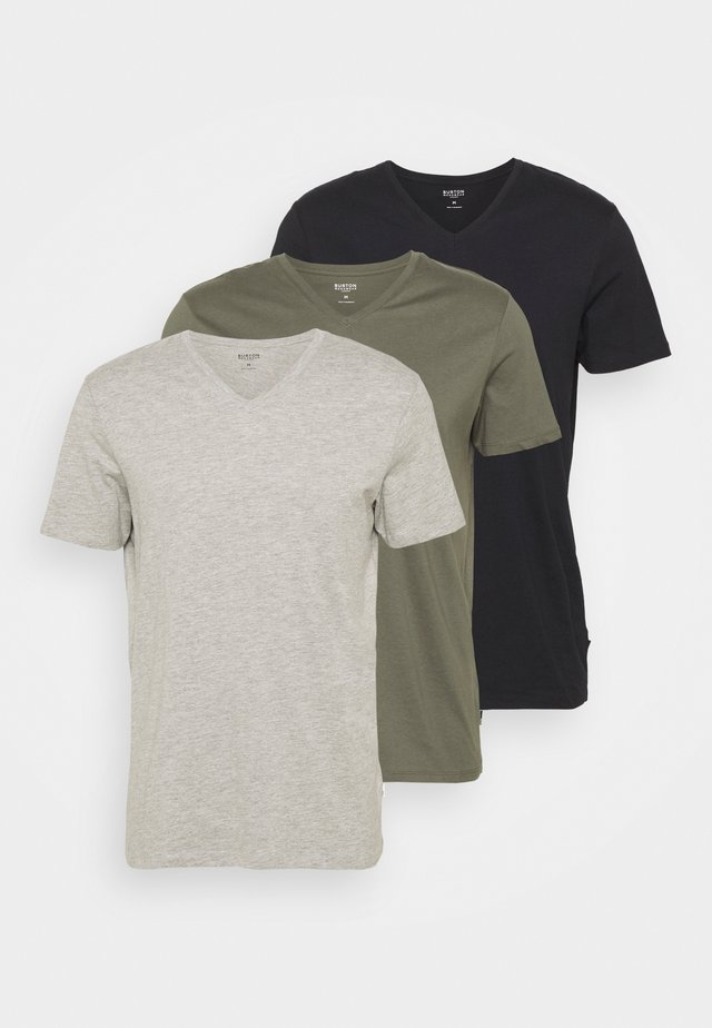 3 PACK - T-shirt basic - multi