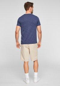s.Oliver - T-shirt basic - blue melange - 2