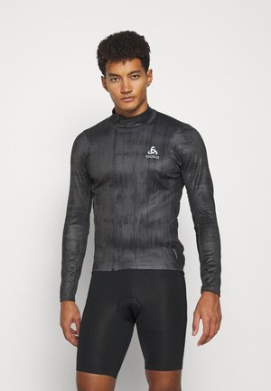 MIDLAYER FULL ZIP ZEROWEIGHT CERAMIWARM - Sports shirt - graphite grey/black