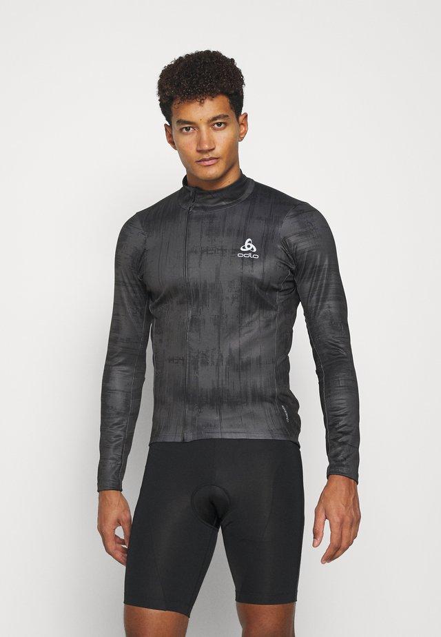 MIDLAYER FULL ZIP ZEROWEIGHT CERAMIWARM - Sportshirt - graphite grey/black