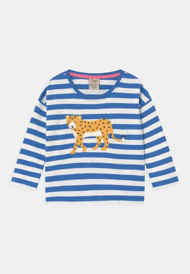 TORI LEOPARD STRIPE  - T-shirt à manches longues - blue