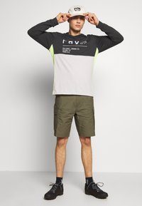 Fox Racing - NON STOP HOODED - Long sleeved top - black vintage - 1