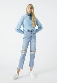 PULL&BEAR - Relaxed fit jeans - dark blue - 1