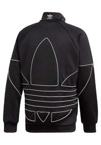 adidas Originals - BIG TREFOIL OUTLINE TRACK TOP - Training jacket - black - 10