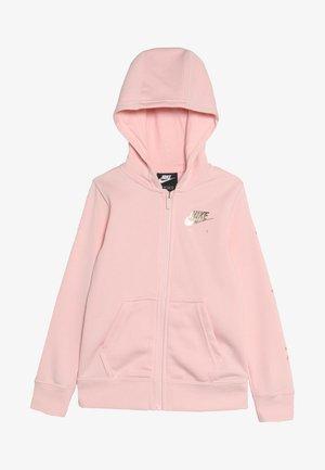 AIR - Zip-up hoodie - echo pink/metallic gold