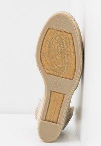 Castañer - CARINA  - High heeled sandals - oro claro - 6