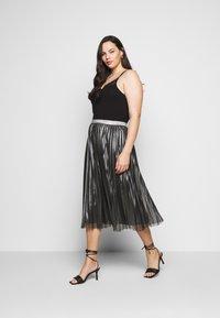 Persona by Marina Rinaldi - Pleated skirt - black - 1