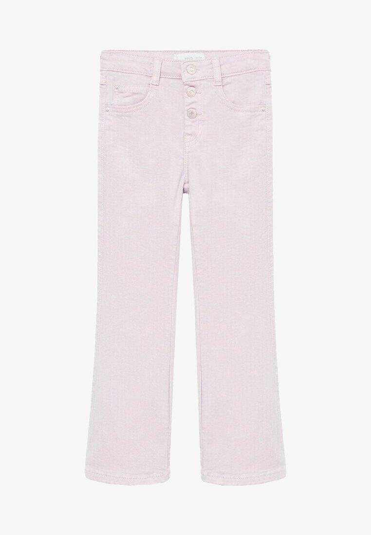 Mango - DEBBI - Jeans a sigaretta - licht/pastelpaars
