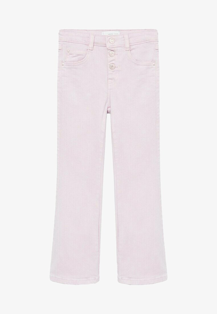 Mango - DEBBI - Straight leg jeans - licht/pastelpaars
