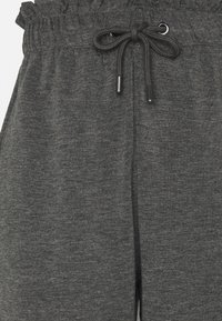 ONLY Tall - ONLPETRA PAPERBAG PANT - Kalhoty - dark grey melange - 5