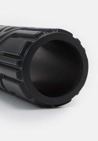 HIIT - RIDGED FOAM ROLLER - Fitness / Yoga - black - 2