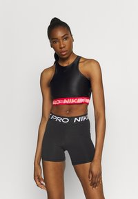 Nike Performance - TANK - Top - black/chile red/clear - 0