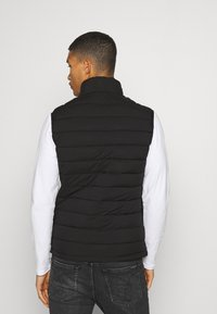 Abercrombie & Fitch - PUFFER VEST - Waistcoat - black - 2