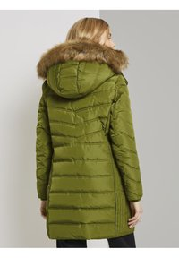 TOM TAILOR - SIGNATURE PUFFER COAT - Winter coat - wood green - 2