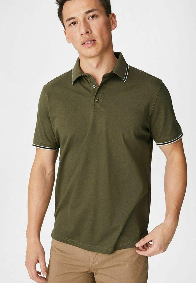 Poloshirt - dunkelgrün
