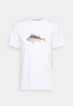 PERCH - T-shirt print - white