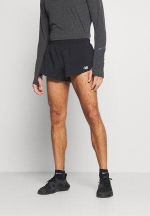 ACCELERATE SPLIT - Urheilushortsit - black