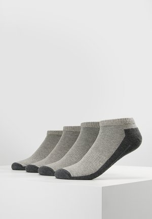 SNEAKER 4 PACK - Socquettes - grey
