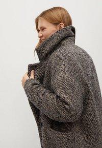 Mango - Winter coat - grijs - 5