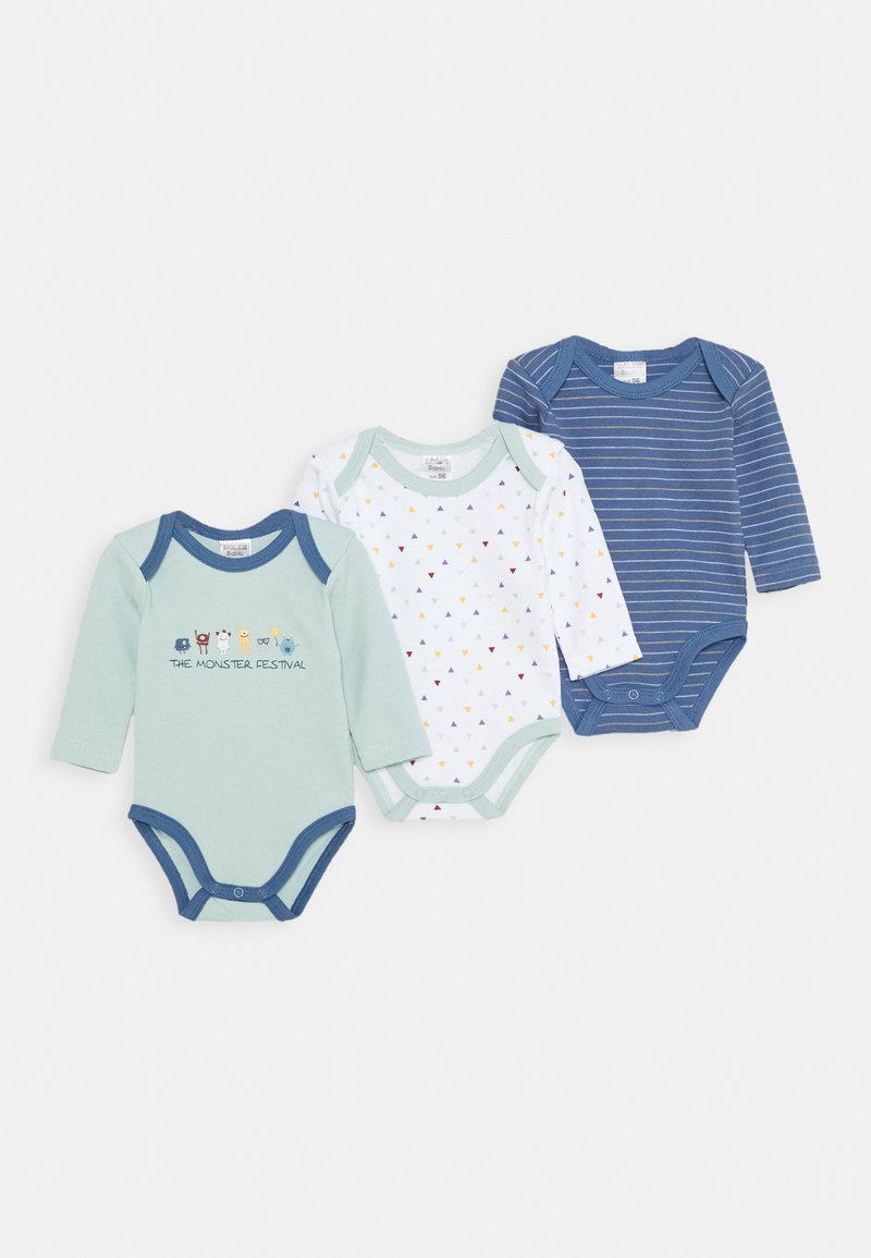 Jacky Baby - LANGARM  3 PACK - Body - blue
