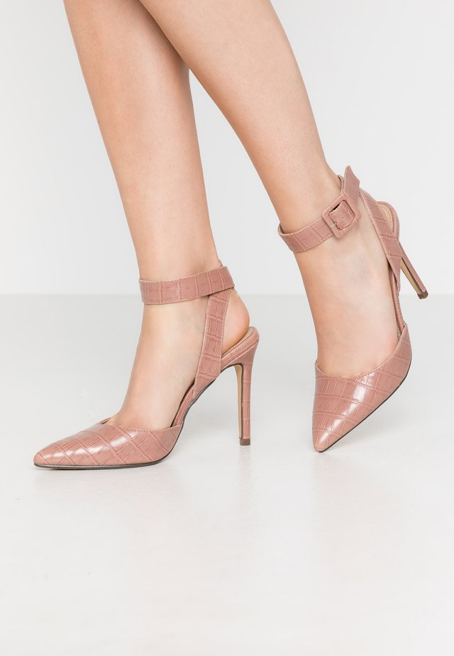 HARMONY - Zapatos altos - blush