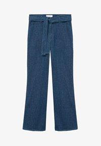 Violeta by Mango - CHRISTIE - Flared Jeans - blau - 4