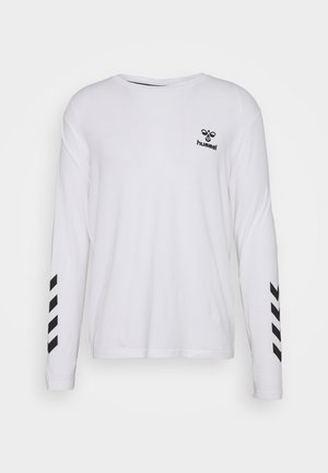 HMLSIGGE - Long sleeved top - white