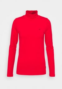 Calvin Klein - TURTLE NECK - Long sleeved top - red - 0