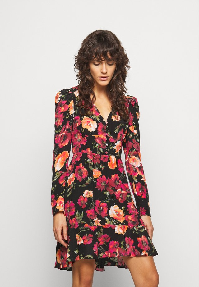 ROBE - Korte jurk - multicolor