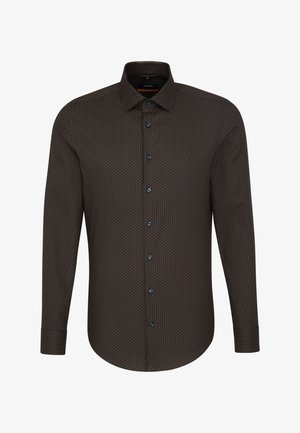 SLIM FIT - Formal shirt - brown