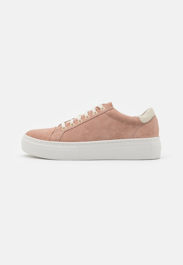 ZOE - Sneakers laag - dusty pink