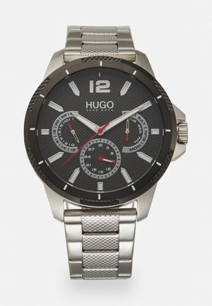 SPORT - Chronograph watch - silver-coloured/black