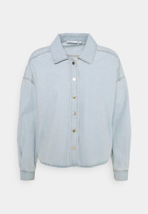 ONLGWYNITH LIFE - Button-down blouse - light blue denim