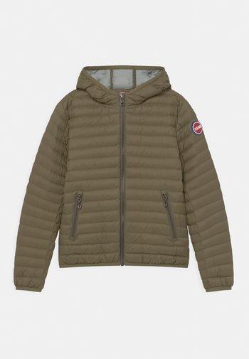 REPUNK UNISEX - Down jacket - artichoke-light steel