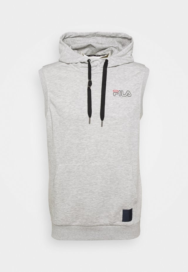 LUX SLEEVELESS HOODIE - Sweatshirt - light grey