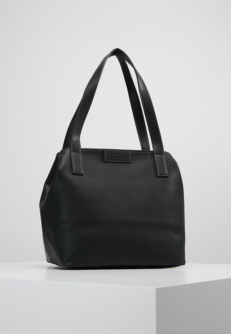 TOM TAILOR - MIRI ZIP  - Tote bag - schwarz