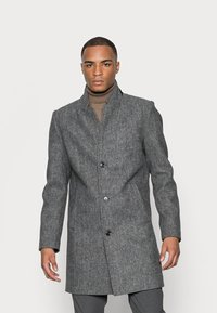 TOM TAILOR DENIM - COAT - Klassinen takki - grey melange - 0