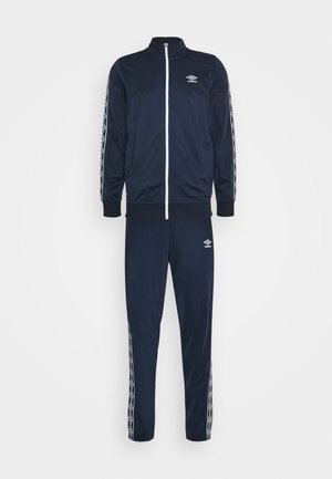ACTIVE STYLE TAPED TRACKSUIT - Tracksuit - dark navy/white