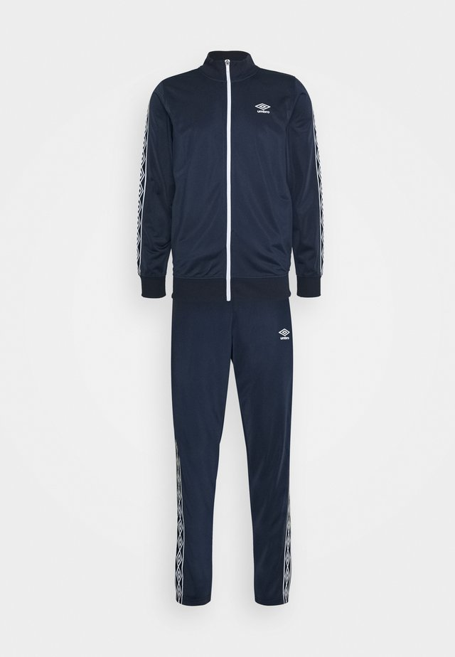 ACTIVE STYLE TAPED TRACKSUIT - Verryttelypuku - dark navy/white
