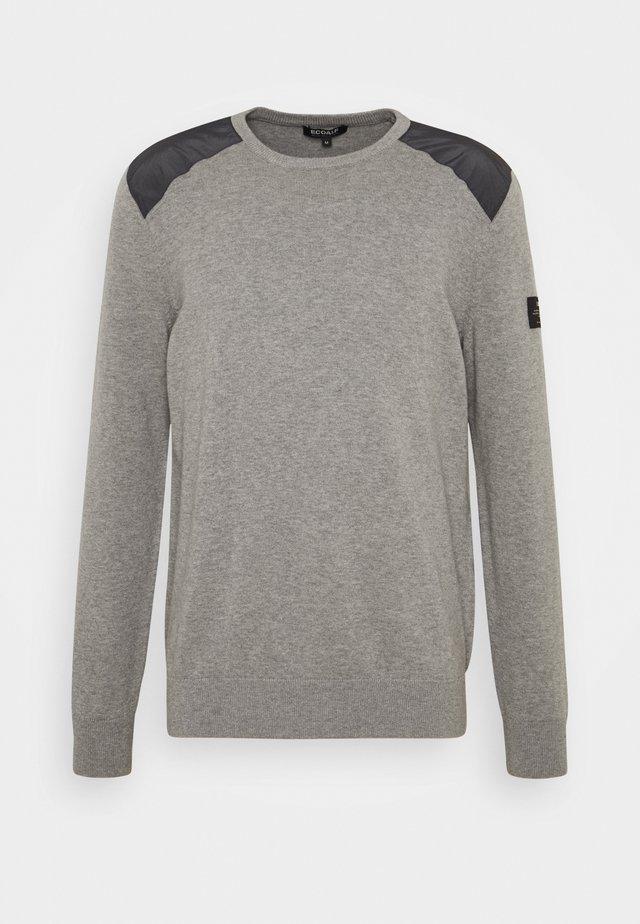 CHARLES - Pullover - grey melange