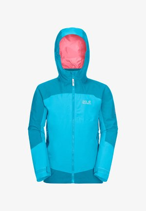 ROPI 3IN1 - Soft shell jacket - atoll blue