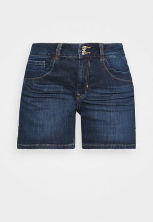 CAJSA - Short en jean - used mid stone blue denim