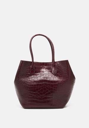 OPEN TOTE LARGE - Tote bag - oxblood