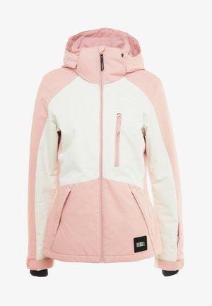 APLITE JACKET - Snowboard jacket - bridal rose